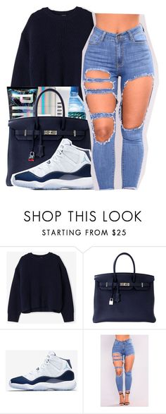 """""""Juice Yo gotti"""" by maiyaxbabyyy ❤ liked on Polyvore featuring Acne Studios, Hermès and NIKE #acneclothing"""
