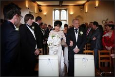 Civil ceremony at the wonderful Notley Abbey