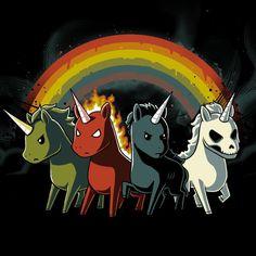 Cuatro unicornios de ...