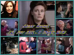 Wendy Hughes (29 July 1952 – 8 March 2014) was an Australian actress [Star Trek:The Next Generation].  Rest in pace