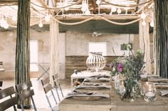 Rustic setting for a romantic wedding | Timeless Weddings