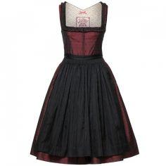 Damen  Trachten Kleid  geblümt Gr 40 von Hansi Trachten