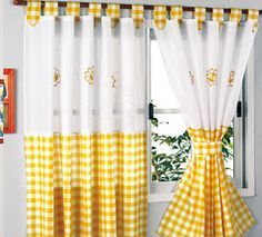 Cute Curtains, Nursery Curtains, Country Curtains, Drapes Curtains, Valance, Kitchen Curtain Designs, Kitchen Curtains, Home Decor Furniture, Diy Home Decor