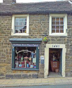 Oldest Sweet Shop in England: Pateley Bridge, England
