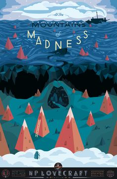 Mountains of Madness Art Print
