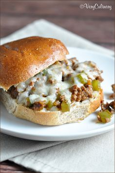 Sloppy joes  Eddie :)