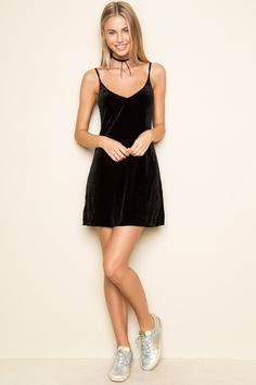 Brandy ♥ Melville | Jackie Velvet Dress - Just In
