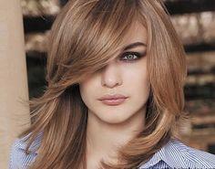 Layered haircuts wit