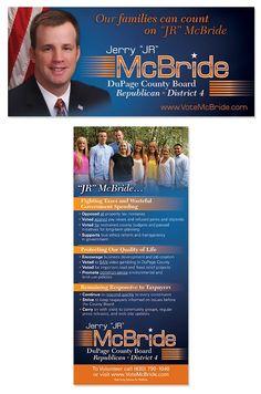 JR McBride, DuPage County Board, Republican, District 4