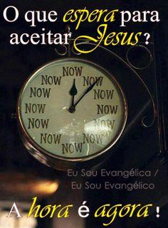 Jesus pode voltar a qualquer momento! Se renda a Ele!