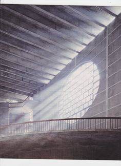 Bangladesh's parliament building in Dhaka by Louis Kahn.