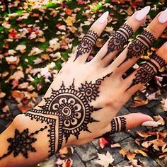 henna tattoos on hands tumblr - Google Search