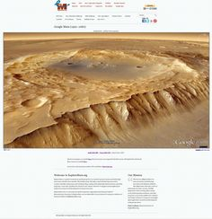 [June 27, 2012] NEW: http://www.exploremars.org/googlemars-giant - In addition to Google Mars 3D in your web browser in 640x480 and 960x720, there's now a GIANT 1920x1080 (HD) version. If it were any more immersive you'd need a pressure suit. Please LIKE & SHARE and let's get to Mars. (Tuskegee Crater pictured)