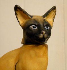 ✿ RARE 1980 Vintage Hoffman Porcelain Whiskey Decanter Abyssinian Cat Music Box | eBay Abyssinian Cat, Whiskey Decanter, Fox, Porcelain, Antiques, Cats, Music, Animals, Ebay
