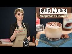 How to Make a perfect Caffe Mocha with the Nespresso Machine - recipe by http://www.aromacup.com