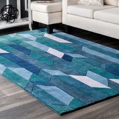 Shop a great selection of nuLOOM Thelma Contemporary Area Rug, x Blue. Find new offer and Similar products for nuLOOM Thelma Contemporary Area Rug, x Blue. Area Rugs For Sale, Rug Sale, Contemporary Area Rugs, Modern Contemporary, Geometric Rug, Blue Area, Online Home Decor Stores, Online Shopping, Beige Area Rugs