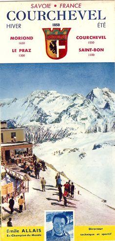 1000 images about vintage meribel 3vs on pinterest ski posters ski and winter sport - Meribel office du tourisme ...