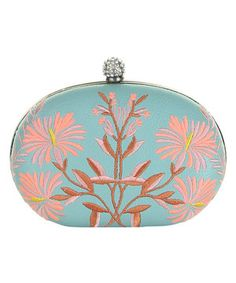 Another great find on #zulily! Mint Green & Pink Rosie Clutch by Darling #zulilyfinds