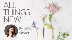 We're excited about the official release ofAll Things Newby Kelly Minter today! This study features so many verses you probably know, but as Kelly unpacks 2 Corinthians, you'll come to know these passages better and learn how they apply to you right now. We can't wait to see how God uses this study to show …