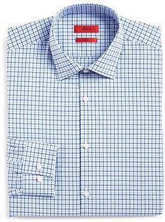 31a8836748a HUGO Medium Check Slim Fit Dress Shirt Slim Fit Dress Shirts