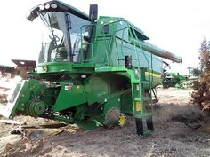 John Deere 9760 combine salvaged for used parts. This unit is available at All States Ag Parts in Bridgeport, NE. Call 877-530-5010 parts. Unit ID#: EQ-23661. The photo depicts the equipment in the condition it arrived at our salvage yard. Parts shown may or may not still be available. http://www.TractorPartsASAP.com