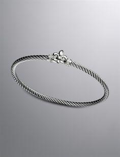 David Yurman Fleur de Lis Bracelet.