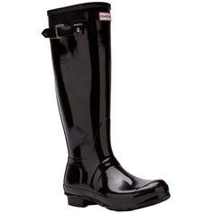 HUNTER original tall rain boot (770 NOK) found on Polyvore