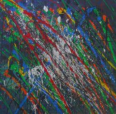 """St. Louis"" Original Acrylic on Canvas 36 x 36"