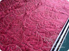 Maryellen's Sampler Quilt. Ruby Blue Quilting Studio