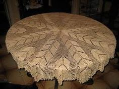 Resultado de imagem para toalha para mesa em croche