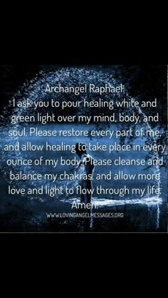 Reiki Archangel Raphael prayer Amazing Secret Discovered by Middle-Aged Construction Worker Releases Healing Energy Through The Palm of His Hands. Cures Diseases and Ailments Just By Touching Them. And Even Heals People Over Vast Distances. Archangel Raphael Prayer, Archangel Prayers, Archangel Gabriel, Archangel Michael, Spiritual Life, Spiritual Awakening, Spiritual Warfare, Angel Spirit, Spirituality