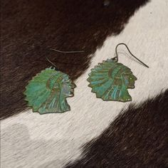 Indian head earrings Really sweet Indian head earrings! Final markdown! No trades or Lowball offers!! Thanks  Jewelry Earrings