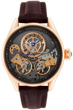 some girls like shoes i like watches this is definitely the next rougois rs8390g rose gold regal double escapement automatic skeleton watch for men watches for women