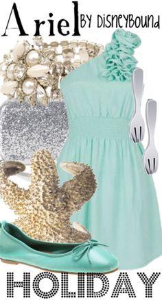 Ariel by Disney Bound  Fashion Disney Outfit  Little Mermaid