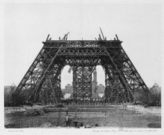 Tour Eiffel - Paris 1887