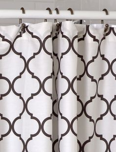 Moroccan Me Crazy Shower Curtain
