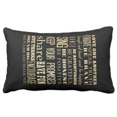 Inspirational Art - Love One Another. Throw Pillow