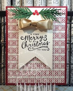 Reason for the Season, Festive Flower Punch, stampin up, christmas card