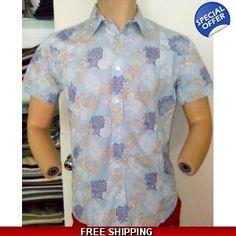 Karl & Kriss Sky Blue Flower Printed Shirt - www.onlinedeals.tk