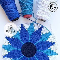 Crochet Tshirt - Low and High Smocking Frock (Rose Design) Crochet Doily Rug, Tapestry Crochet Patterns, Crochet Mandala Pattern, Crochet Diagram, Bead Crochet, Diy Crochet, Crochet Sunflower, Learn To Crochet, Crochet Projects