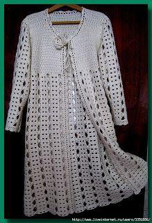 Resultado de imagem para jaqueta de croche