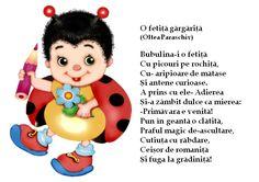 Bubulina, o fetiță- gărgăriță... Alphabet Worksheets, Preschool Worksheets, Experiment, Kids Poems, Class Decoration, Educational Games, Activities To Do, Kids Education, Kids And Parenting