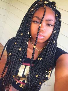 Single braids hairstyles and haircuts for you to try 169 best single plaits images in 2019 singlebraids boxbraidshairstyles silky shining braid Single Braids Hairstyles, Braided Crown Hairstyles, Hairstyles 2018, Blonde Box Braids, Braids For Black Hair, African Braids Styles, Braid Styles, Single Plaits, Ghana Braids
