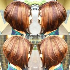 Totally in love with this #aline by @darlene_the_stylist Love my alines cut…