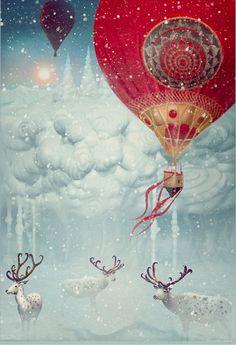 Winter fly - Tatiana Kazakova