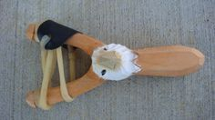 Wooden 3D Hand Carved Eagle Head Sling shot real by GoodtradeKevin, $12.95...Christmas gift idea for boys.