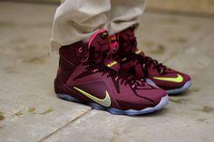 Nike LeBron XII (Double Helix) via Rockcitykicks Buy it @ Rockcitykicks | Nike US | Size? | Finishline | Footlocker