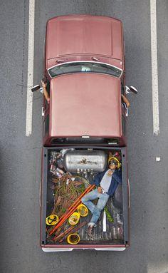 Alejandro Cartagena carpoolers series