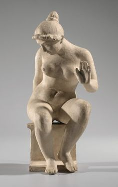 Aristide Maillol (1861-1944) in Kunsthal Rotterdam - Vrouwenfiguren en meer. Leda - Aristide Maillol 1900