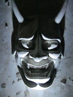 Hannya Oni Mask by FalcataHoplite